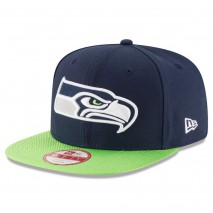 New Era NFL SEATTLE SEAHAWKS Authentic 2016 On Field Sideline 9FIFTY Snapback Game Cap