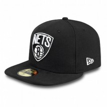 New Era NBA BROOKLYN NETS Patched 59FIFTY Cap