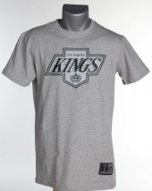 Majestic NHL LOS ANGELES KINGS Bergen Logo T-Shirt