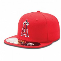 New Era MLB L.A. Angels of Anaheim Authentic On Field 59FIFTY Game Cap