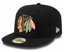 New Era NHL CHICAGO BLACKHAWKS Big One 59FIFTY Cap
