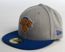 New Era NBA NEW YORK KNICKS Heather Pop 59FIFTY Cap