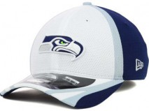 New Era NFL SEATTLE SEAHAWKS 2014 Training Camp 39THIRTY Stretch Fit Cap