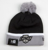 New Era NHL LOS ANGELES KINGS TM Cuff Bobble (Wintermütze) Knit