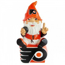Forever Collectibles NHL PHILADELPHIA FLYERS Gnome Sitting on a Logo
