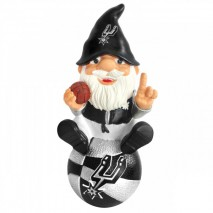 Forever Collectibles NBA SAN ANTONIO SPURS Gnome Sitting on a Logo