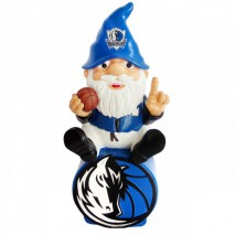 Forever Collectibles NBA DALLAS MAVERICKS Gnome Sitting on a Logo