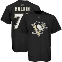 Reebok CCM NHL EVGENI MALKIN #71 - Pittsburgh Penguins Player T-Shirt