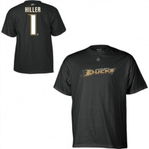 Reebok CCM NHL JONAS HILLER #1 - Anaheim Ducks Player T-Shirt