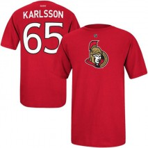 Reebok CCM NHL ERIK KARLSSON #65 - Ottawa Senators Player T-Shirt