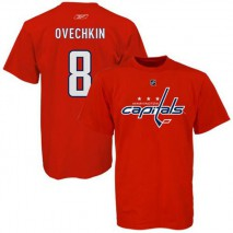 Reebok CCM NHL ALEX OVECHKIN #8 - Washington Capitals Player T-Shirt