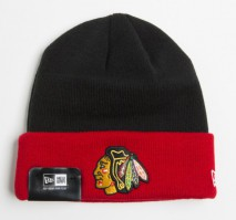 New Era NHL CHICAGO BLACKHAWKS Contrast Cuff (Wintermütze) Knit