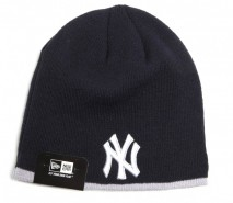New Era MLB NEW YORK YANKEES Stripe Skull (Wintermütze) Knit