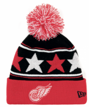 New Era NHL DETROIT RED WINGS Pommy Star (Wintermütze) Knit