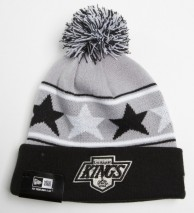 New Era NHL LOS ANGELES KINGS Pommy Star (Wintermütze) Knit