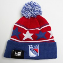 New Era NHL NEW YORK RANGERS Pommy Star (Wintermütze) Knit