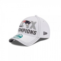 New Era NFL NEW ENGLAND PATRIOTS Super Bowl 2015 On Field 9FORTY Championship Cap
