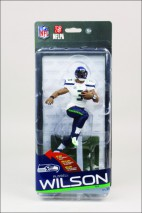 McFarlane NFL Series 35 CL Gold RUSSELL WILSON #3 - Seattle Seahawks #500 Figur