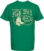 Majestic MLB BOSTON RED SOX St. Patrick's Day T-Shirt