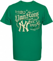 Majestic MLB NEW YORK YANKEES St. Patrick's Day T-Shirt