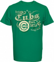 Majestic MLB CHICAGO CUBS St. Patrick's Day T-Shirt