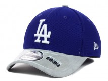 New Era MLB LOS ANGELES DODGERS Two Tone Diamond 39THIRTY Stretch Fit Cap