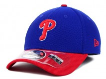 New Era MLB PHILADELPHIA PHILLIES Two Tone Diamond 39THIRTY Stretch Fit Cap