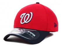 New Era MLB WASHINGTON NATIONALS Two Tone Diamond 39THIRTY Stretch Fit Cap