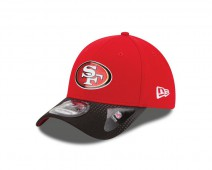 New Era NFL SAN FRANCISCO 49ERS Authentic 39THIRTY Draft 2015 Stretch Fit Cap