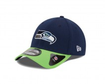 New Era NFL SEATTLE SEAHAWKS Authentic 39THIRTY Draft 2015 Stretch Fit Cap