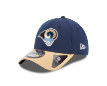 New Era NFL ST. LOUIS RAMS Authentic 39THIRTY Draft 2015 Stretch Fit Cap