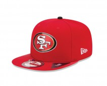 New Era NFL SAN FRANCISCO 49ERS Authentic 9FIFTY Draft 2015 Snapback Cap