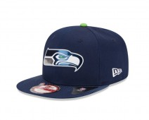 New Era NFL SEATTLE SEAHAWKS Authentic 9FIFTY Draft 2015 Snapback Cap