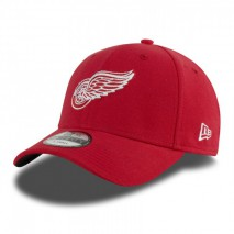 New Era NHL DETROIT RED WINGS 39THIRTY Team Pique Stretch Fit Cap