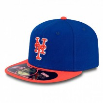 New Era MLB NEW YORK METS Authentic On Field 59FIFTY Game Cap