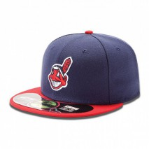 New Era MLB CLEVELAND INDIANS Authentic On Field 59FIFTY Game Cap
