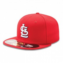 New Era MLB ST. LOUIS CARDINALS Authentic On Field 59FIFTY Game Cap
